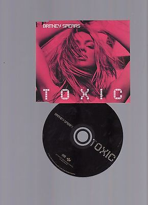 BRITNEY SPEARS TOXIC - 3 Track CD SINGLE ☆☆ | eBay