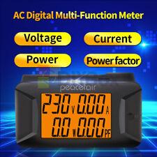 Ac 40 400v 100a Digital Voltage Ampere Panel Meter 220v 110v Ammeter Voltmeter