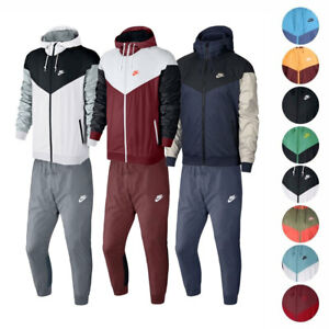 new concept 86af2 b1684 Image is loading Nike-Sportswear-Windrunner-Jacket-amp-Pants-Men-039-
