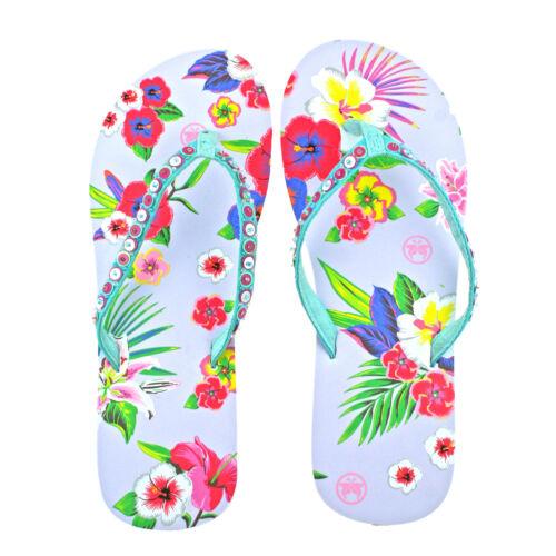 Femmes urban beach roa blanc tongs toe post plage sandales tailles 3-8