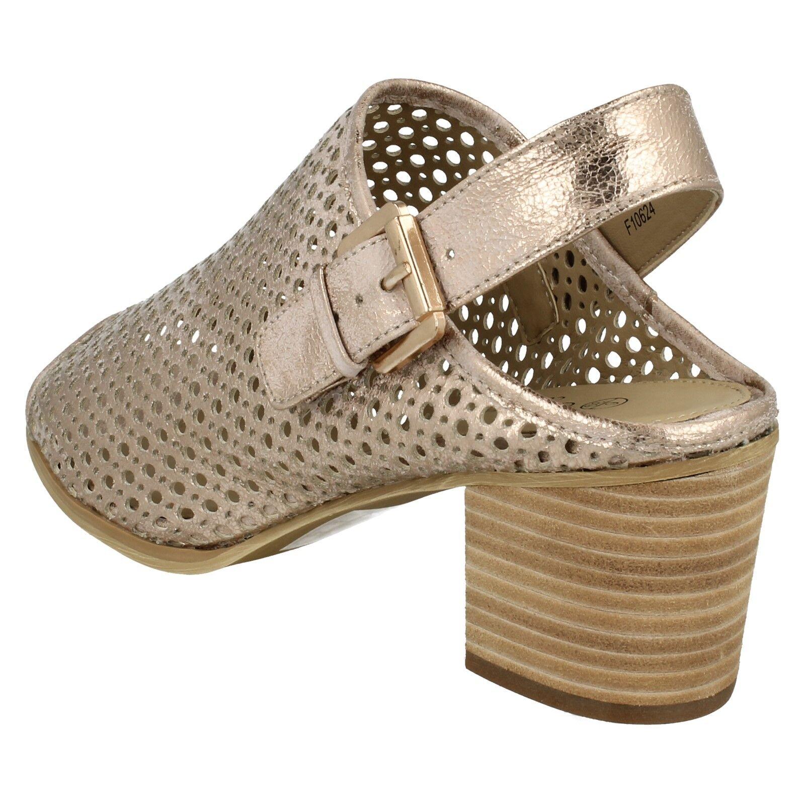 Damen Savannah Sandalen peeptoe blockabsatz Riemen Sommer Sandalen Savannah f10624 0a33c1