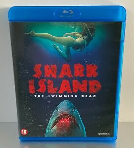 Blu-Ray Shark Island: The Swimming Dead ** PAL 2 ** Horror **
