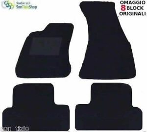 2 block! AUDI A3 SPORTBACK TAPPETI tappetini per AUTO