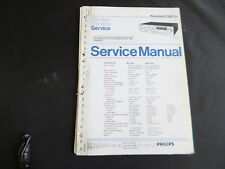 Original Service Manual Philips F 6227