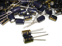 20pcs Panasonic 220uf 16v 105c Series Capacitors Eeufc1c221