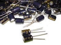 20pcs Panasonic 220uf 16v 105c Series Capacitors Eeufc1c221