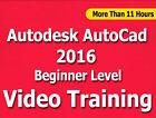 Learn Autodesk AutoCad 2016 Video Training Tutorials CBT Beginner Level 11+ Hrs