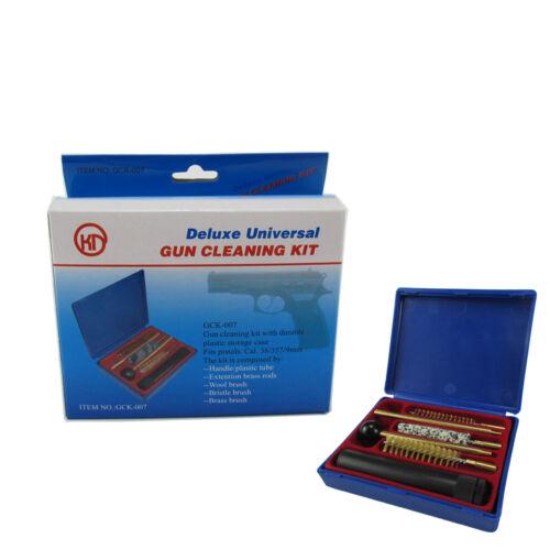 Tourbon Pistol Cleaning Kits Handgun Brush Universal 38/357&9mm Firearm Cleaner