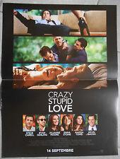 Affiche CRAZY STUPID LOVE Steve Carrell RYAN GOSLING Julianne Moore 40x60cm