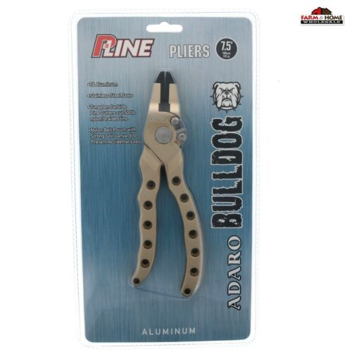 Fishing Pliers Aluminum Line Cutter Stainless Steel Jaw Hook Remover ~ NEW