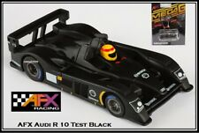 AFX Audi R10 Test Black Mega-G HO Scale Electric Slot Car AFX70303 New In Pack