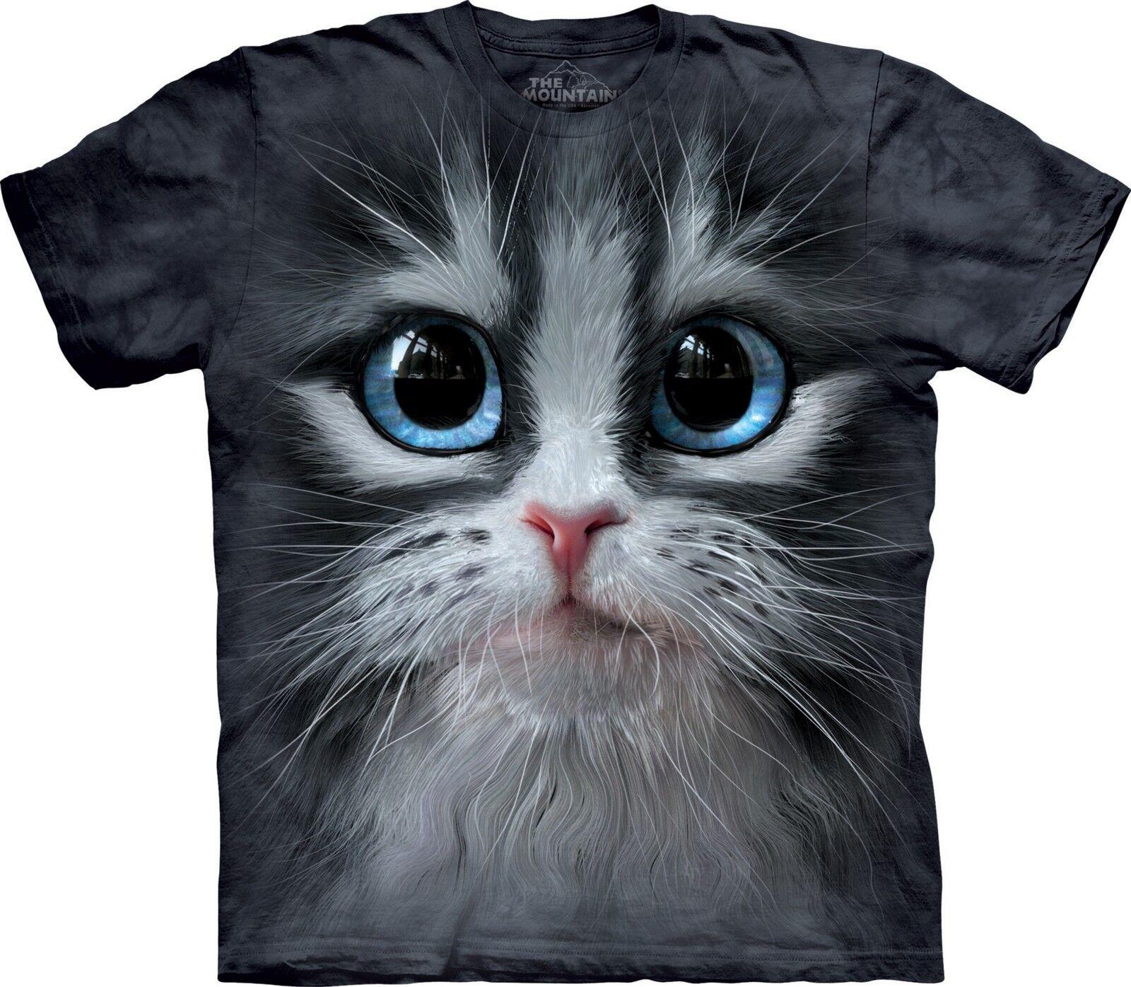 Cutie Pie Kitten Cat T Shirt Adult Unisex The Mountain