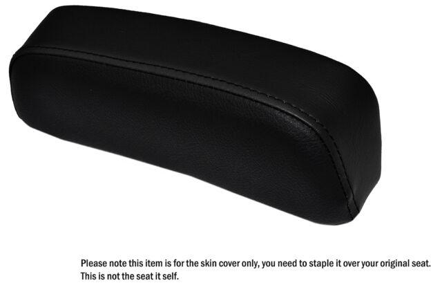 BLACK STITCH CUSTOM FITS SUZUKI GSXR 750 F SLABSIDE PAD LEATHER SEAT COVER