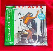 Foreigner Head Games JAPAN MINI LP CD WPCR-12563