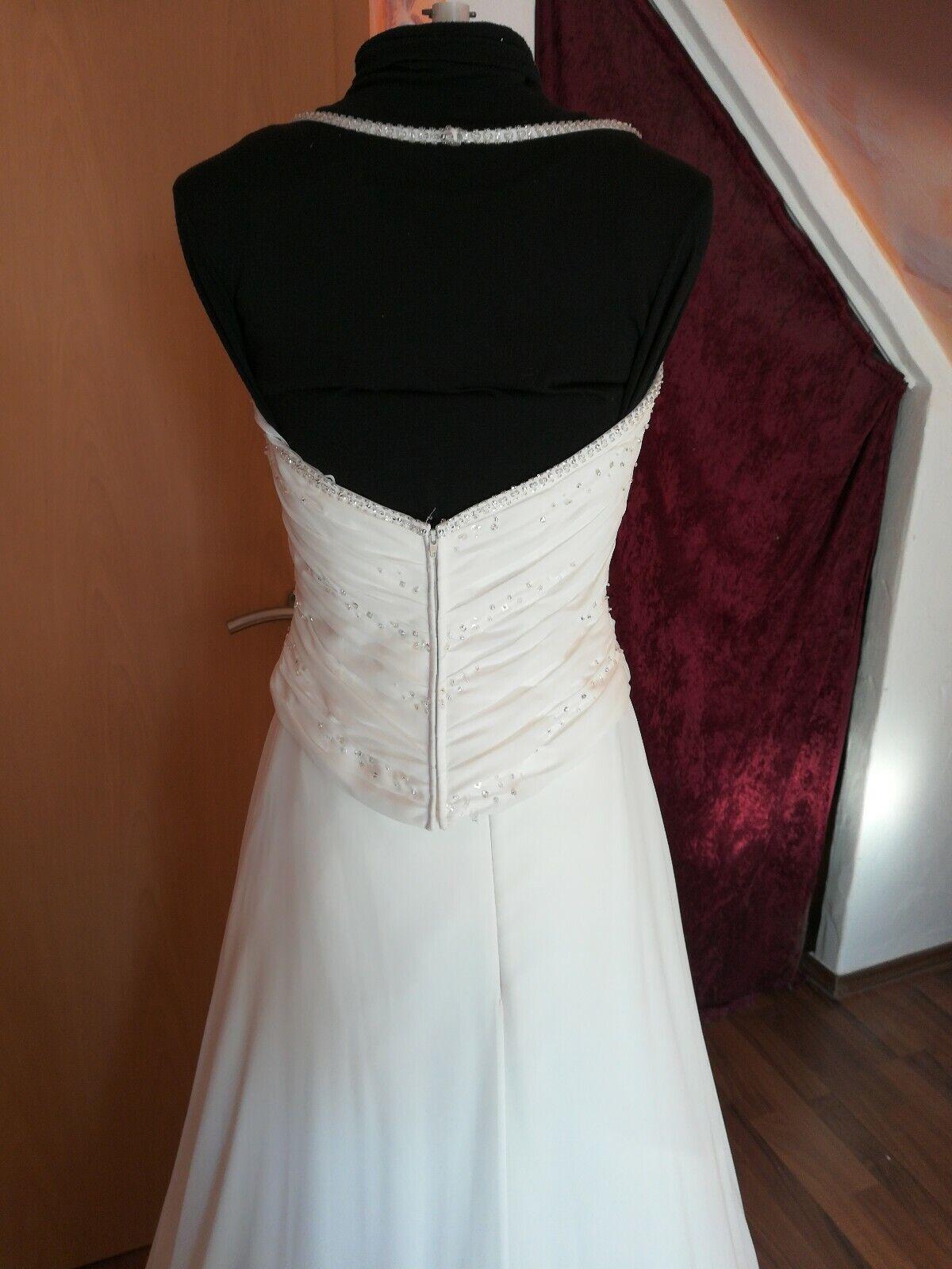 Wunderschönes Brautkleid in ivory gr. -38 neu neu neu  K-B-31 | Guter Markt  | Ich kann es nicht ablegen  | Schön geformt  ab40ab