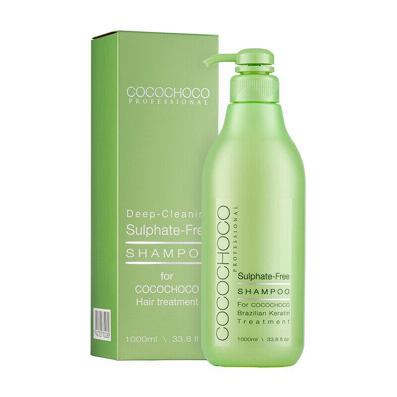 COCOCHOCO Sulfatfreies Shampoo 1000 ml | Ohne Parabene | Ohne Silikone | Vegan
