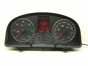 VW Touran Caddy 1.9TDI Km/H Compteur de Vitesse Instrument Cluster 1T0920873A