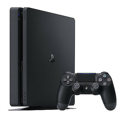 Imported Sony PlayStation 4 (PS4) 1TB Console with One Controller Black