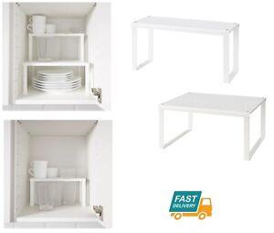 Ikea Etagere Insert Blanc Placard Cuisine Organisateur Stand