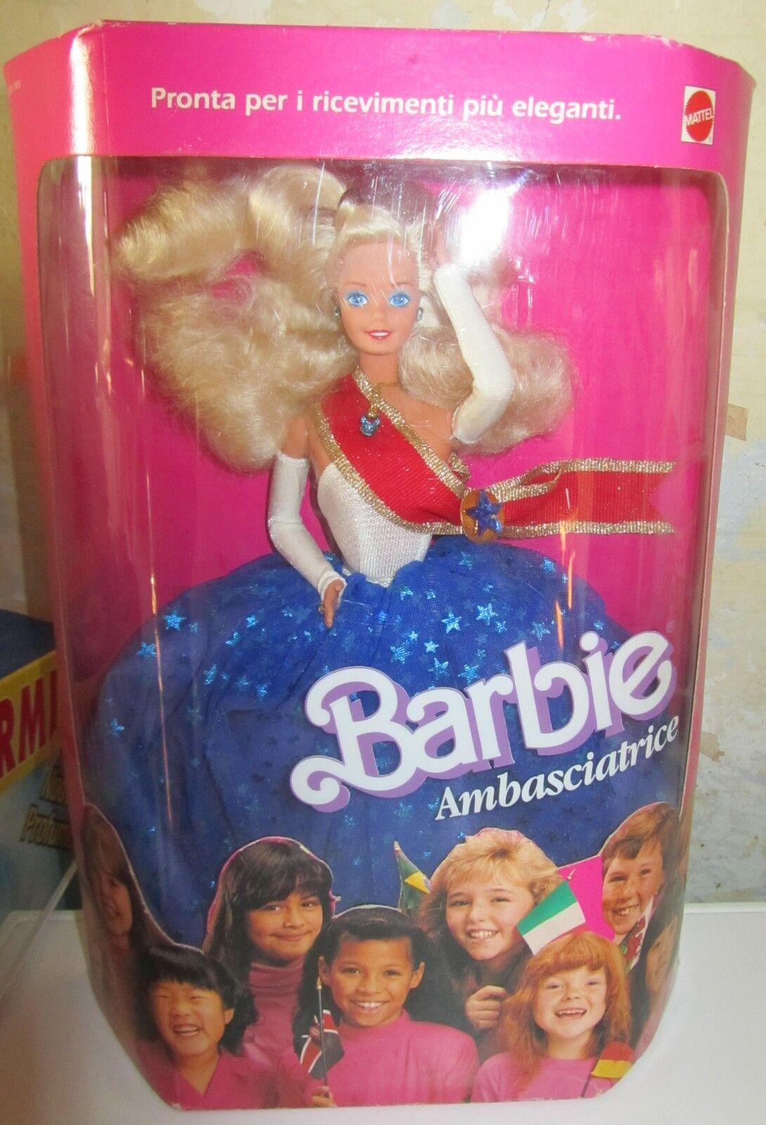 Barbie Ambasciatrice NRFB Mattel SPESE GRATIS