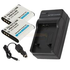 2x LI-50B Battery + Charger for OLYMPUS Tough Stylus 9000 9010 SW 1020 1030 SW