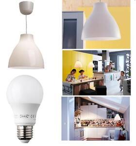 ikea melodi lampe suspendue plafonnier feux blanc l. Black Bedroom Furniture Sets. Home Design Ideas
