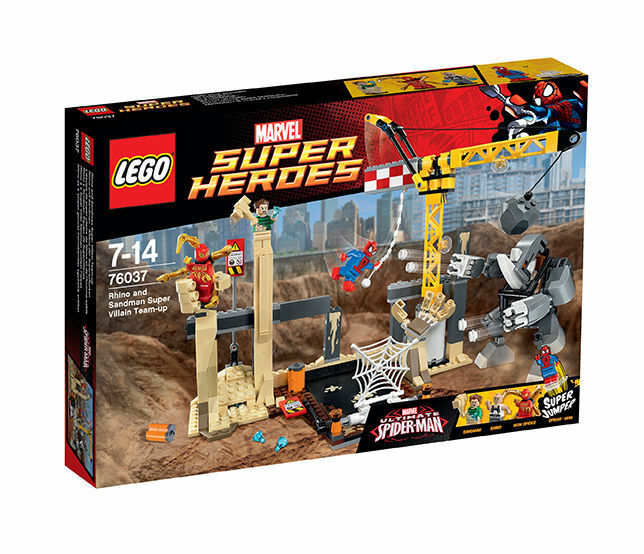 LEGO ® 76037 Marvel Super Heroes Super Villain Team-up neuf new neuf dans sa boîte