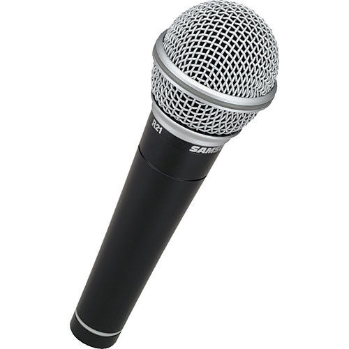 Samson R21 Dynamic Vocal Microphone 3-Pack Mics w// Hard Padded Case /& Mic Clips