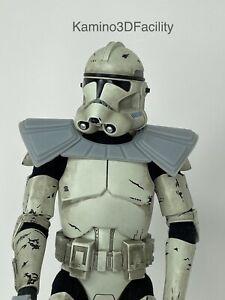 "Star Wars 1//6 ADVANCED RECON FORCE Clone Trooper blanc pour custom 12/"" Figure Scout"