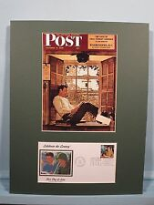 Norman Rockwell - Willie Gillis Goes to College on GI Bill & First Day Cover