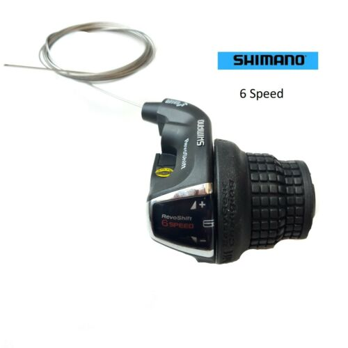 Shimano 6 Speed Sis Index Revo Shift Bike Bicycle Cycle Shifter Derailleur