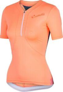 Castelli Women/'s Bellissima Cycling Jersey Black S-XL Two Day Sale