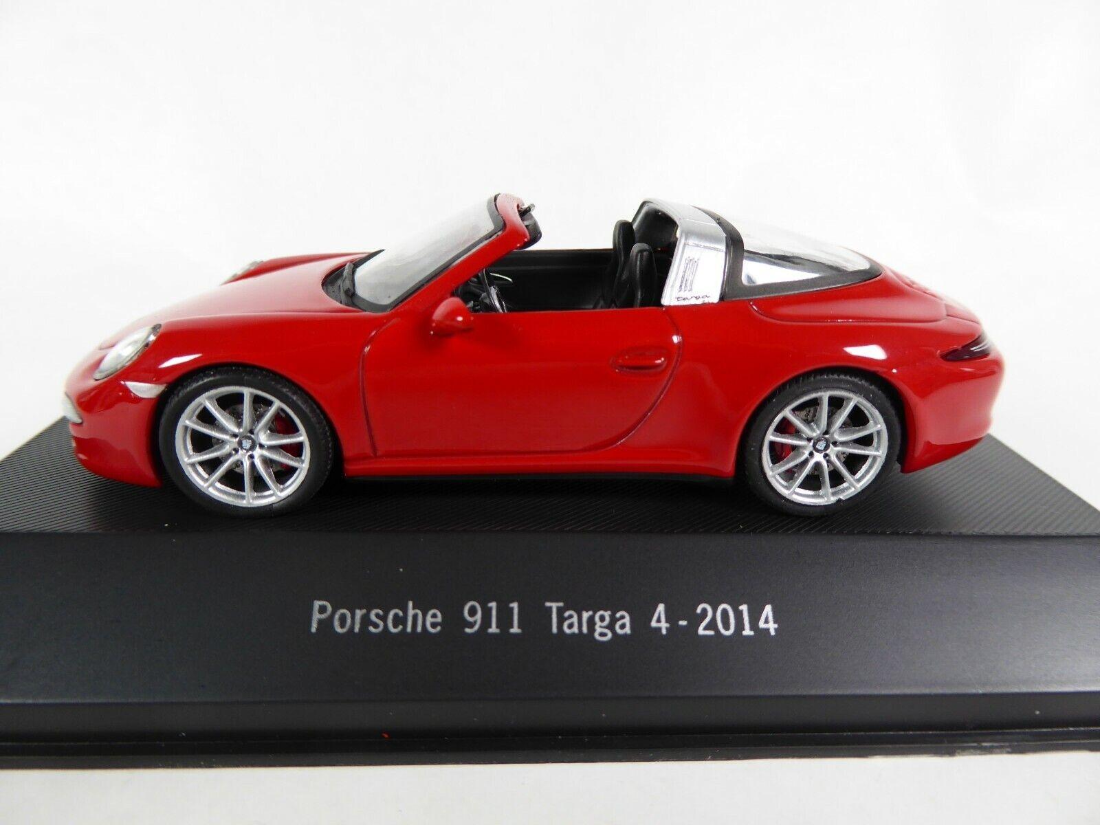 Porsche 911 Targa 4 2014 - 1 43 Voiture Atlas Collection 911 - Model Car 023