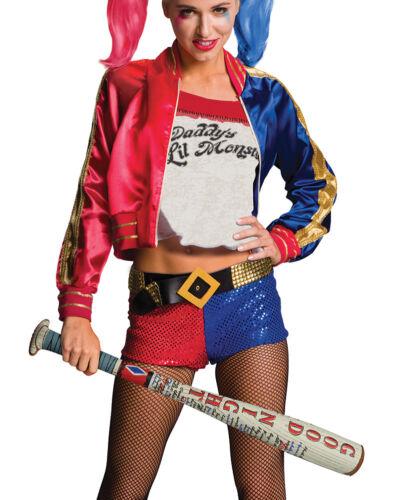 Womens Harley Quinn Inflatable Costume Bat