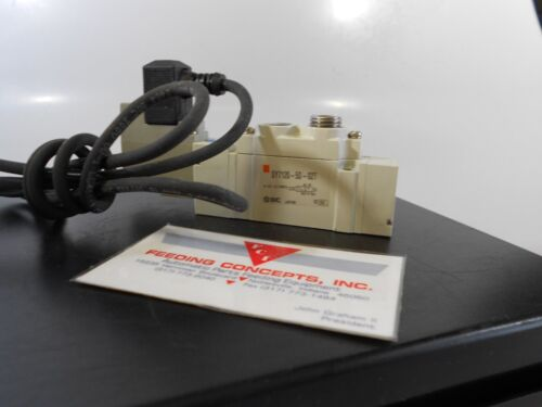 SMC SY7120-5D-02T SOLENOID VALVE PT WITH CABLE 24v dc
