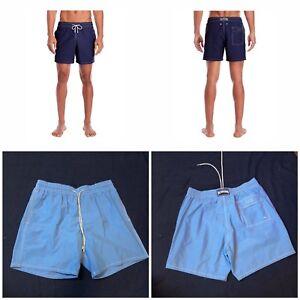 beb9e1953c Vilebrequin Moorea Men Board Shorts Swim Trunks Navy Blue Sz X , XXL ...