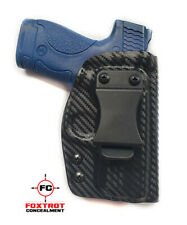 Kydex Holster fits Smith & Wesson M&P SHIELD 2.0 9mm /.40 IWB RH Carbon Fiber