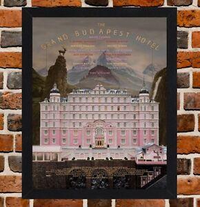 Grand Budapest Hotel Poster Ebay