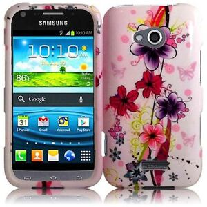 For-Samsung-Galaxy-Victory-4G-LTE-Protector-HARD-Case-Phone-Cover-Elite-Flower
