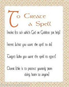 How-to-Create-Write-a-Spell-or-Ritual-Wicca-Book-of-Shadows-Pagan-Occult-Spell