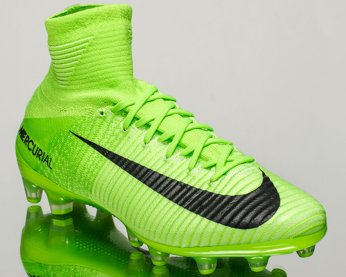 Nike Mercurial Superfly V AG-PRO men soccer cleats football electric 831955-305