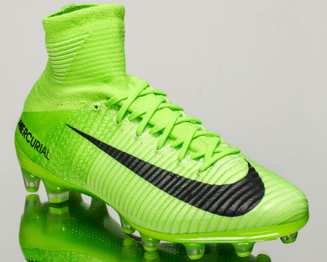 the latest 813e3 fdf86 Nike Mercurial Superfly V AG-PRO men soccer cleats football electric  831955-305