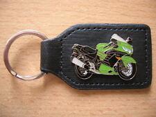 Schlüsselanhänger Kawasaki ZZR 1400 / ZZR1400 grün green Art. 1250 Motorrad Moto