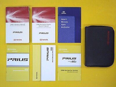 Prius 08 2008 Toyota Owner/'s Owners Manual Factory OEM