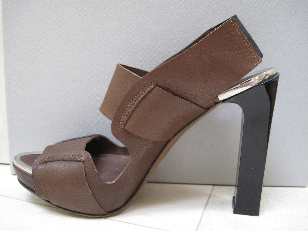 Auténtico Auténtico Auténtico MARNI con Plataforma Sandalias Zapatos 39,5  precio razonable