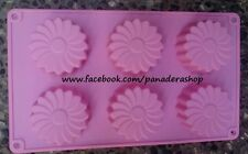 Flower Daisy Silicon Rubber Soap Cake Jelly Chocolate Mold Molder