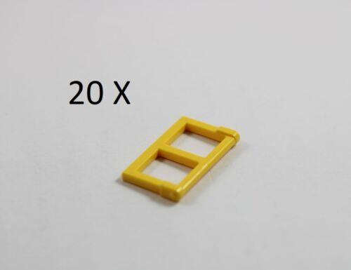 LEGO® Yellow Window 1 x 2 x 3 Pane Thick Corner Tabs Part No 60608