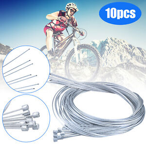 10PCS Bicycle Shift Shifter Derailleur Gear Stainless Steel Inner Cable Wire