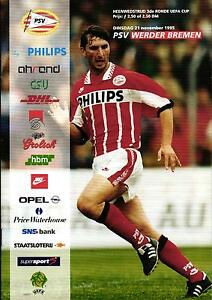UEFA-EC-III-95-96-PSV-Eindhoven-SV-Werder-Bremen-21-11-1995