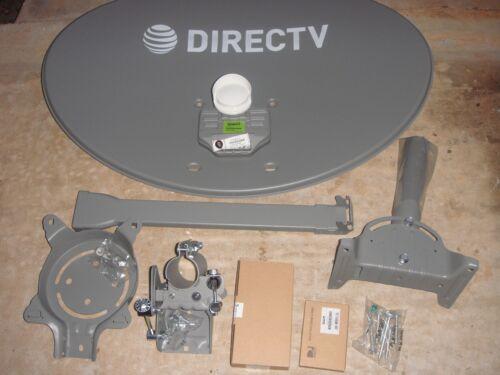 COMPLETE NEW DIRECTV  KAKU 3 SLIMLINE HD DISH//4K SL3 SATELLITE SWM3 DSWM3 4K LNB
